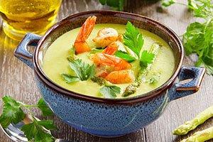 به چاشت - آش ها و سوپ ها